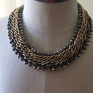 Jewelry - Silver and Gold Necklace